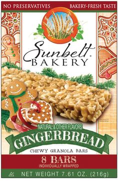 Sunbelt Oats amp Honey Chewy Granola Bars Food Breakfast