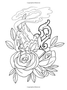1000+ images about CREATIVE HAVEN FLORAL TATTOO DESIGNS on