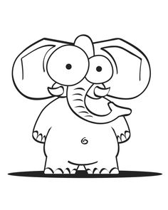 printable template for the elephant party blowers. I used