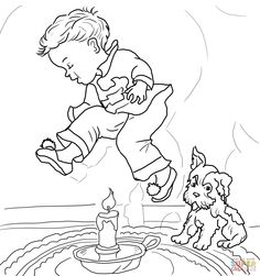 nursery rhyme coloring page: inkspired musings: Mary had a