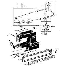 Sears Kenmore 148.15600 (Model 1560) Sewing Machine