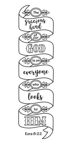 Printable Bible Verse Coloring Bookmarks for Kids and
