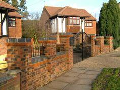Front Garden Wall Designs Google Search Garden Wall Ideas