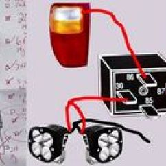 Off Road Light Wiring Diagram Without Relay Duo Therm Rv Thermostat Connecting Led Strip To 12 Volt Car Battery Power Supply - Google Search | Bus Ta ...