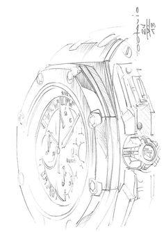 Watch sketch. #drawing #sketch #watch #concept #wristwatch