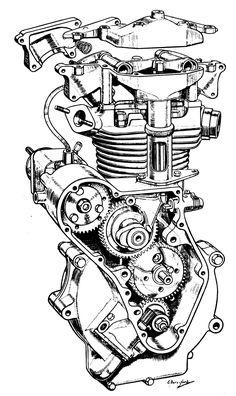 1000+ images about Motorcycle Drawings on Pinterest