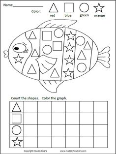 Spring Kindergarten Math Worksheets (Common Core Aligned