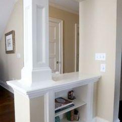 Shelving Ideas For Living Room Walls Sets Sale Trim Interior Columns | Woodworks, Inc ...