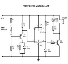 Panic Alarm Circuit Diagram, Working and Applications