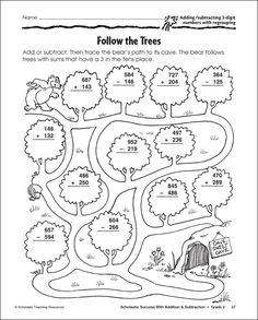 Practice Three-Digit Subtraction With These Free Math