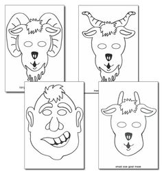 1000+ images about Three billy goats gruff on Pinterest