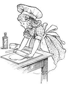 Baking Mom / Wife: Tons of retro clip art via The Graphics