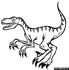Look out! Where there's one velociraptor, there's usually