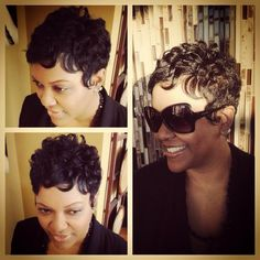Soft Finger Waves With Pin Curls Wedding Pinterest Doigts