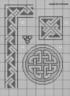 1000+ images about Celtic Cross Stitch on Pinterest