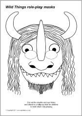 Maurice Sendak Where The Wild Things Are Coloring Pages