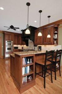 Cream cabinets with back splashes | brown countertop cream ...