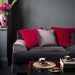 Living Rooms With Grey Couches Room Ideas 2018 Images Red Sofa Decor On Pinterest | Couch Decorating, ...