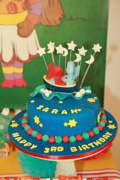 In The Night Garden Birthday Party Ideas Night Garden Garden