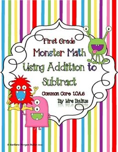 K1 Function Machine: Robot Math (What's My Rule?)Common