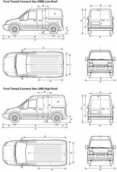 2002-2013 Ford Transit Connect Camper Conversion Kit. Do