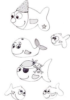 Look! Marlin and Dory just found Nemo! A beautiful