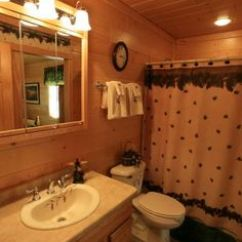 Antique Copper Kitchen Faucet Home Depot Painting Cabinets 1000+ Images About Log Bathrooms On Pinterest ...