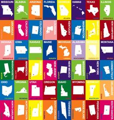 1000 Images About States And Capitals On Pinterest