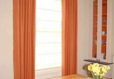 Curtains On Pinterest Roman Blinds Arched Windows And