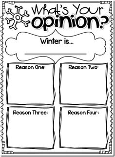 Teaching opinion writing can be a lot of fun in First