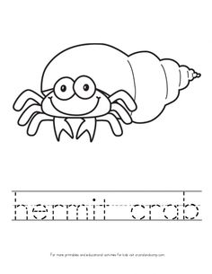 1000+ images about crab crafts for kids on Pinterest