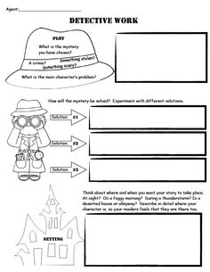 Detective Case Report-Story Map. For use with mystery