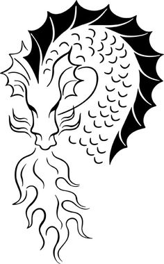 Download your free Dragon Stencil here. Save time and