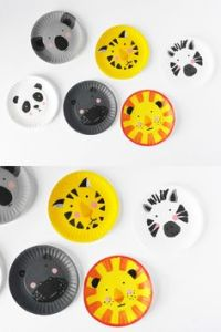 Paper Plate Craft Activities on Pinterest
