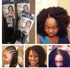 Faux Bang Protective Hairstyle Girl! Who Does Your Hair