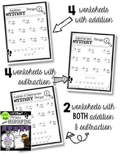 The Adding and Subtracting Two-Digit Numbers (A) math