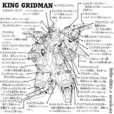 1000+ images about Denkou Choujin Gridman Board on