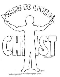 Galatians 6:2 coloring page. See more at my blog: http