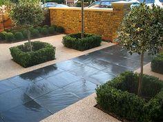 Gardens Contemporary Front Garden Design Ideas Garden Ideas