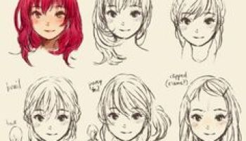Tremendous Anime Hairstyles For Girls Ponytail Hd Wallpaper Gallery Hairstyles For Men Maxibearus