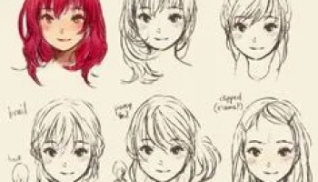anime hairstyles girls