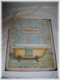 Bonjour Pink Paris Bath Mat - bathroom Decor, rubber ...