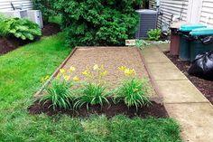 backyard design hardscape