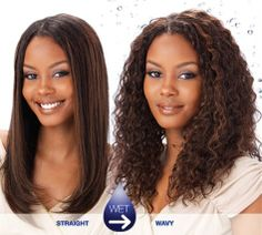 Wet And Wavy Weave Hairstyles MILKY WAY Wet & Wavy Tempo Curl 8