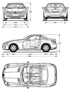 Mercedes clk on Pinterest