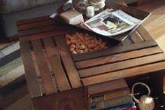 Ellis Coffee Table Vintage Industrial Flat Panel TV