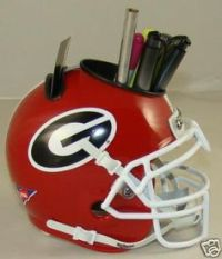 Fiberglass Georgia Bulldog Helmet Chair | eBay | Bully ...