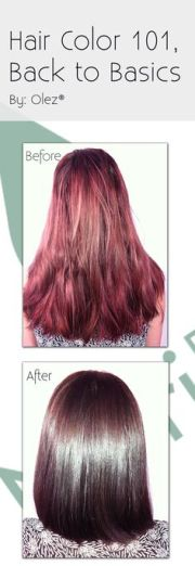 aveda hair color red copper