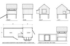 Chicken coops, Chicken coop plans and Coops on Pinterest