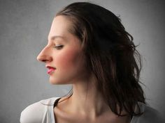 Women Hairstyle Big Nose Noses Pinterest Women& Beauty Tips